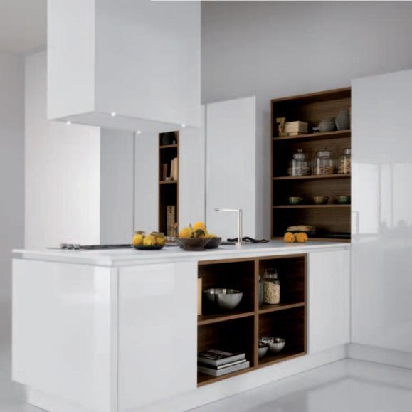 Cuisine contemporaine atelier 22 parquet pose et for Fourniture cuisine
